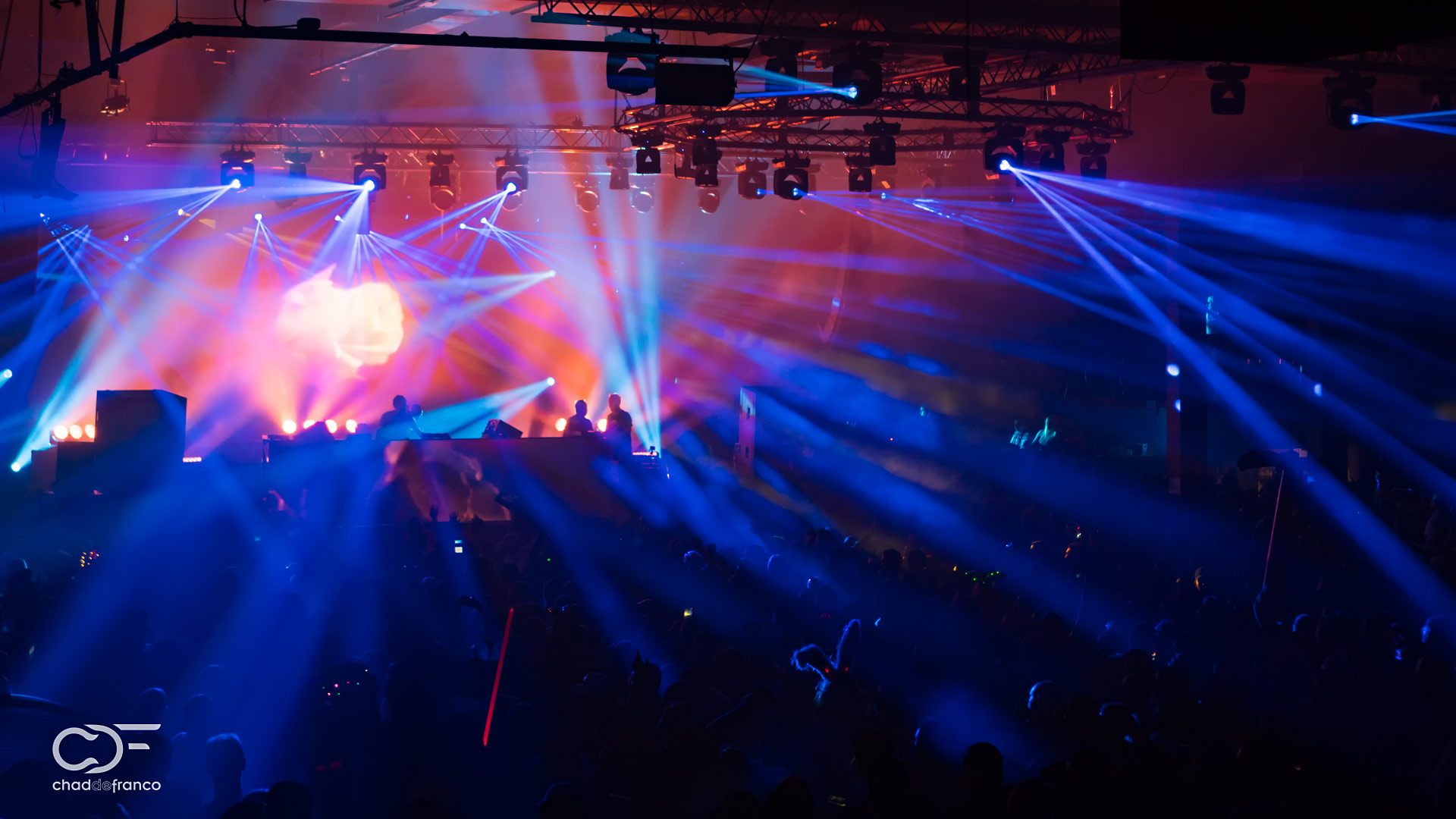 Above and Beyond at the Atlanta Coliseum