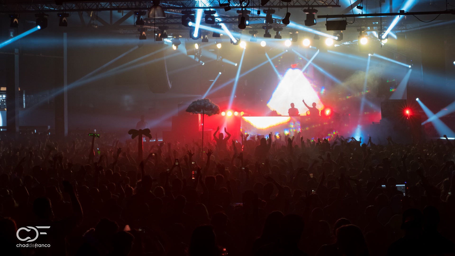 Above & Beyond in front of a massive crowd in Atlanta, GA