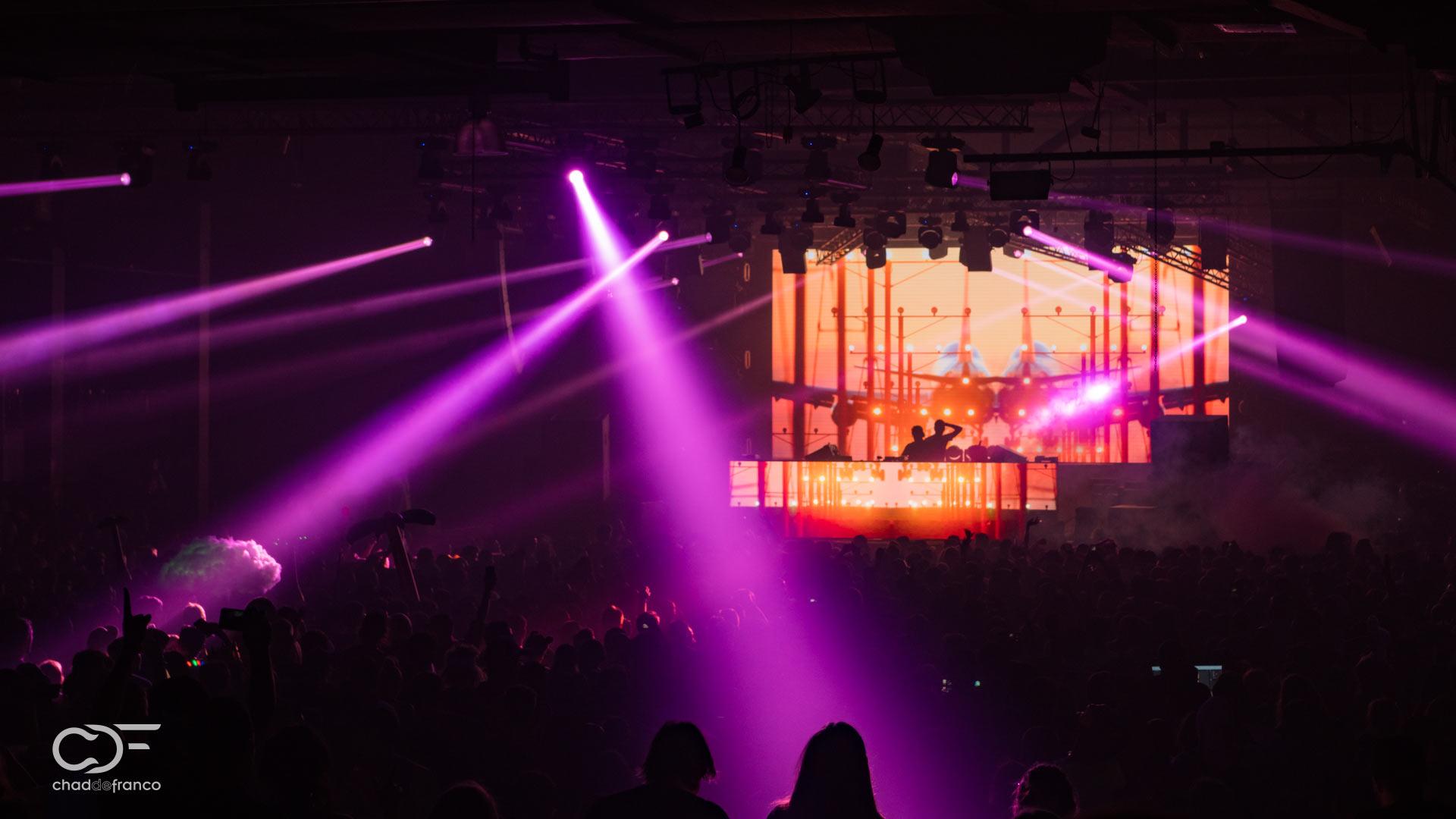 Above & Beyond at the Atlanta Coliseum