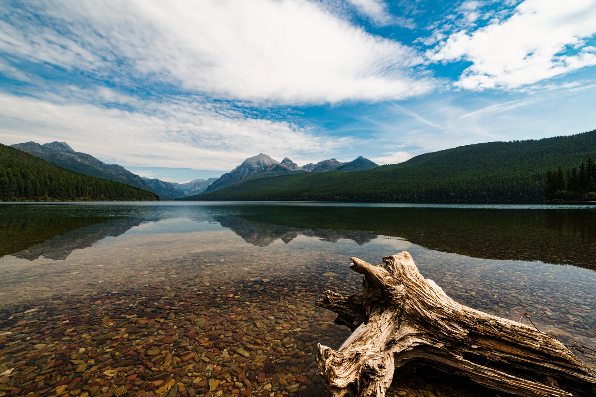 Bowman Lake Glacier National Park, Montana