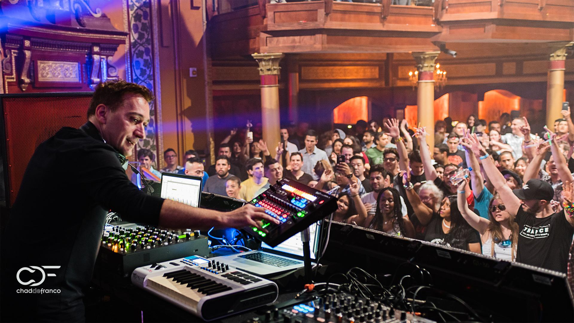 Paul van Dyk exciting a crowd at Opera Nightclub in Atlanta